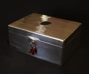 The Sterling Silver Humidor