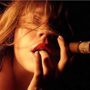 sexy cigar girl