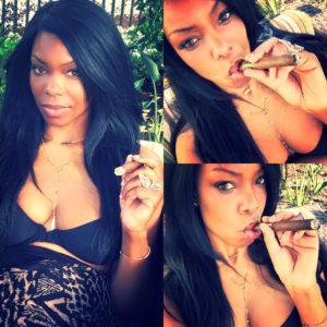 smoking pretty