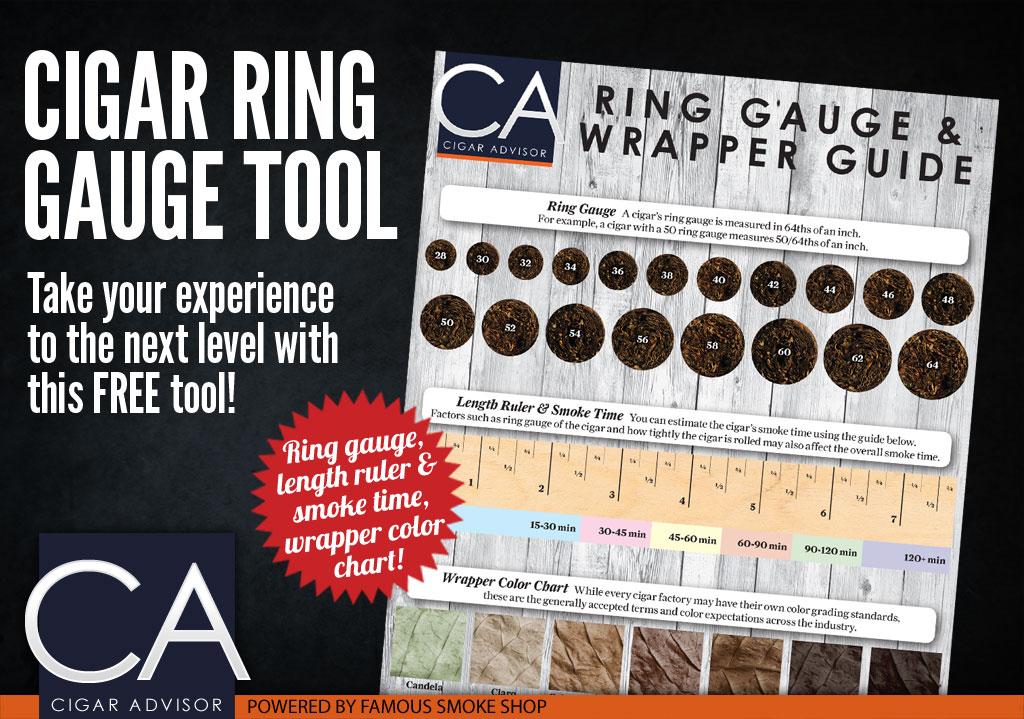 Cigar Ring Gauge Printable