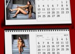 2019 Calendar featuring Sizzlin' Sunday Cigar Girl of the Year – Miss Daniela Fernandez